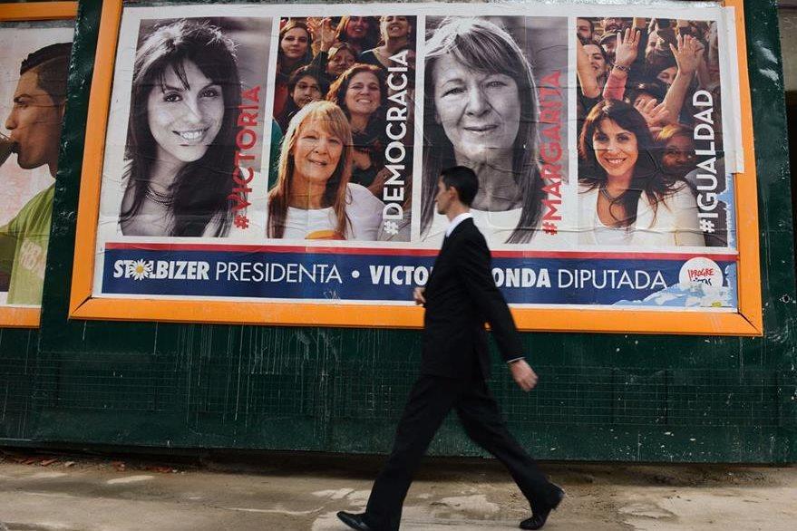 El próximo domingo 25 de octubre Argentina deberá votar para elegir al sucesor de Cristina Fernández. (Foto Prensa Libre: AFP).