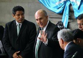 Mario Taracena ocupa por última vez en su periodo un lugar en la junta directiva. (Foto Erick Avila)