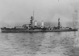 El Emden en el río Yangtsé, hacia Nankín, China (1931). Foto Prensa Libre: US Navy Naval History and Heritage.