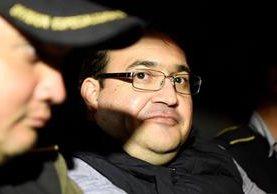 Javier Duarte, exgobernador de Veracruz, México, fue capturado en Panajachel, Sololá, la noche del sábado. (Foto Prensa Libre: Hemeroteca PL)