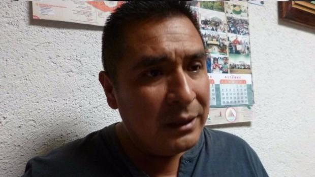 <strong>Mario Sánchez Cuevas</strong>, alcalde de San Miguel El Grande, Oaxaca.