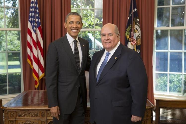 Julio Ligorría asumió el cargo de embajador de Guatemala ante la Casa Blanca desde septiembre de 2013. (Foto Prensa Libre Hemeroteca PL)