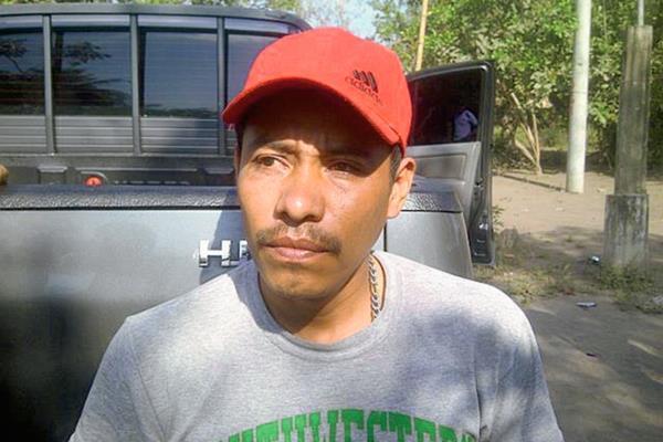 Merlos Villalobos fue capturado por la PNC en Nueva Concepción, Escuintla, señalado de abuso sexual. (Foto Prensa Libre: PNC)