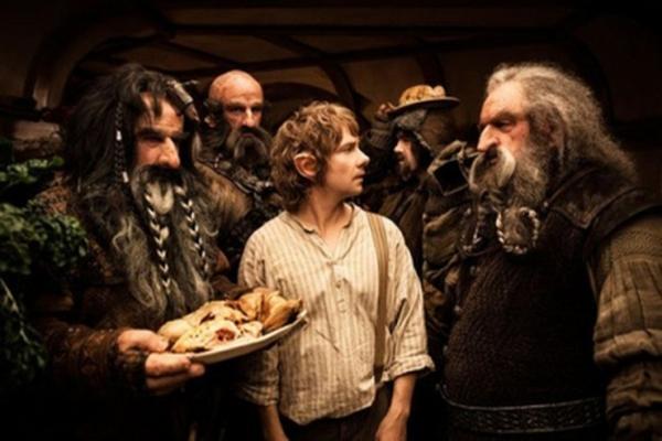 <p>Estrenan la esperada superproducción The Hobbit</p>