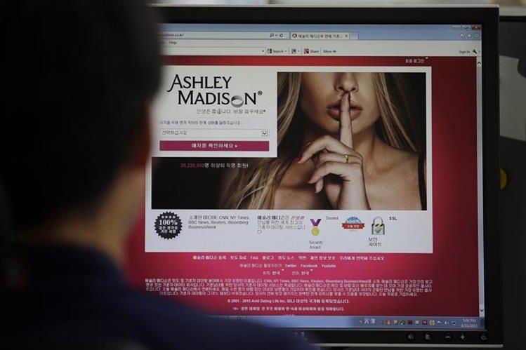 <em>El grupo de hackers se autodenominó <strong>&quot;</strong>El equipo de choque&quot;&nbsp; y su objetivo era clausurar la web de los adúlteros.&nbsp; (Foto Prensa Libre: AP).</em>