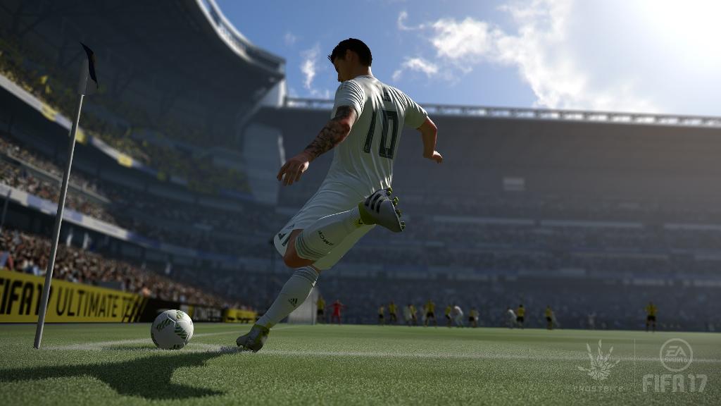 Fifa 17 es uno de los juegos más esperados por los aficionados a los videojuegos. (Foto Prensa Libre: Electronic Arts)