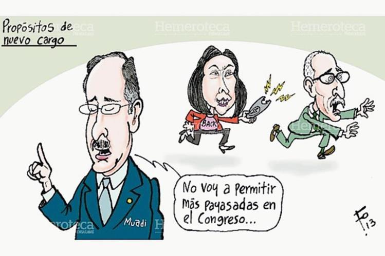 Caricatura de Fo sobre bochornos en el Congreso. (Foto: Hemeroteca PL)