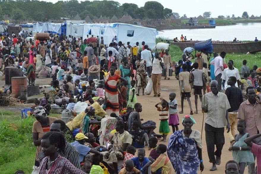 Vista de un campo de refugiados en Etiopía que cuenta con cientos que han huido de Sudán del Sur. (Foto Prensa Libre: ONU).