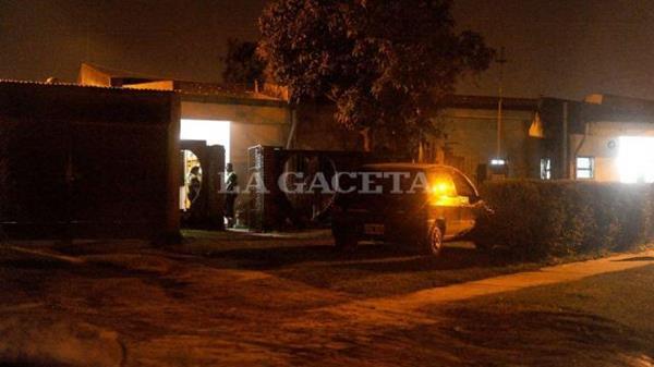 En esta casa ocurrió el incidente. (Foto tomada de La Gaceta)