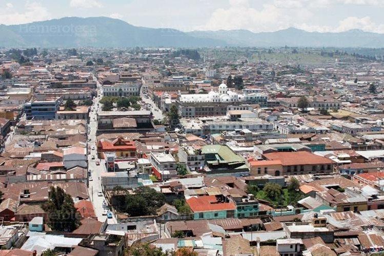 Vista de Xelajú, desde La Pedrera. (Foto Prensa Libre: Hemeroteca PL)