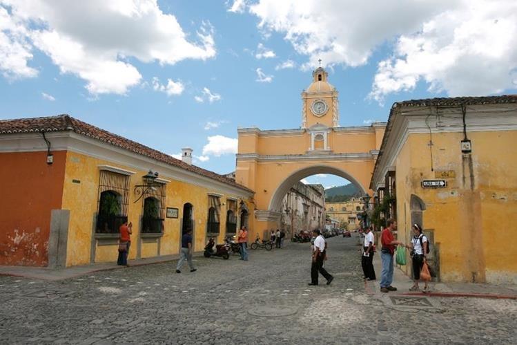 Antigua Guatemala es uno de los principales destinos turísticos en el país. (Foto, Prensa Libre: Hemeroteca PL)