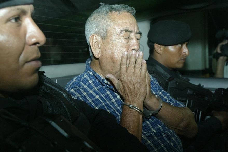 Capturan de Waldemar Lorenzana fue por orden de extradición de EE.UU. (Foto Prensa Libre: Hemeroteca PL)