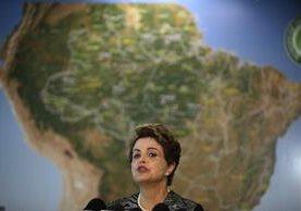 """dILMA Rousseff afirmó que su país, """"ganará la guerra contra el mosquito"""" Aedes aegypti."""