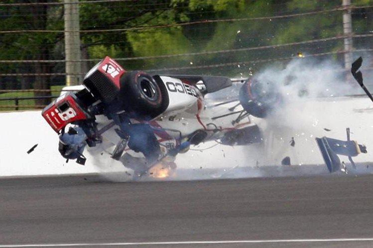 Sebastien Bourdais: brutal accidente del francés en la Indy Car