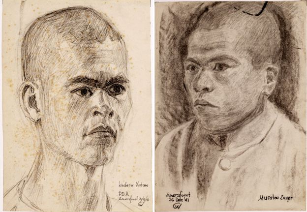 Hatam Kadirov y Zair Muratov. MUSEO FLEHITE