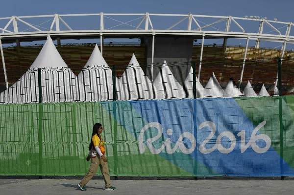 Las instalaciones de tenis están listas para Río 2016. (Foto Prensa Libre: AFP)