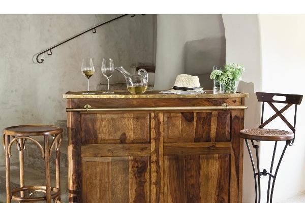 C mo decorar el bar en el hogar - Como decorar un bar pequeno ...