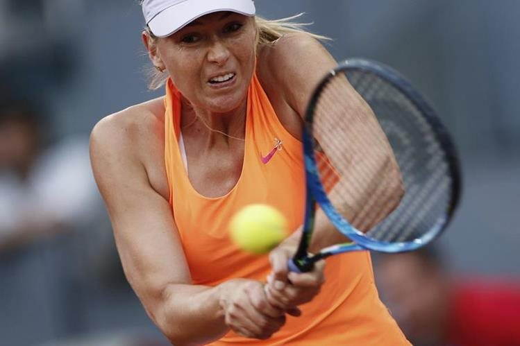 La tenista rusa María Sharapova anunció que no asistirá a Wimbledon (Foto Prensa Libre: Hemeroteca PL)