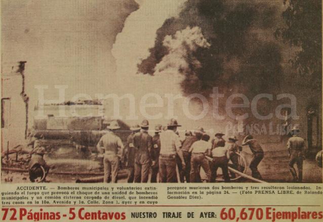 Detalle de la portada de Prensa Libre del 13/08/1971. (Foto: Hemeroteca PL)