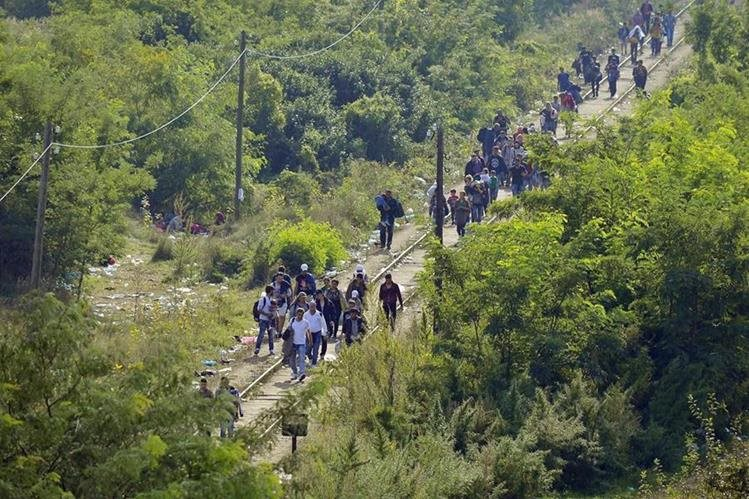 La violencia en el triángulo norte obliga a las familias a migrar a EE. UU., según organizaciones que demandan TPS para centroamericanos. (Foto Prensa Libre: Hemeroteca PL)