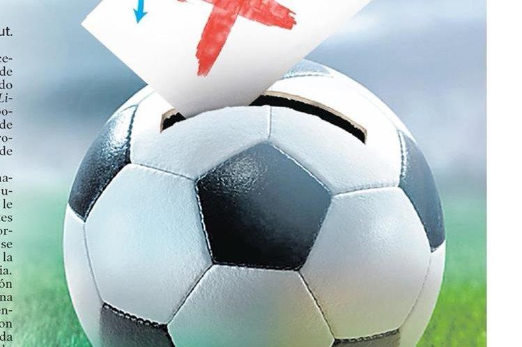 Las elecciones en la Fedefut, están en peligro por el dilema que existe entre los requerimientos que tiene Fifa y la Ley Nacional del Deporte. (Foto Prensa Libre: Ilustración Billy Melgar)