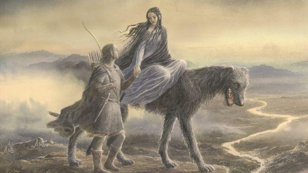 """""""Beren y Lúthien"""" es una historia de amor que en parte fue inspirada en la esposa de Tolkien, Edith. (ALAN LEE)"""