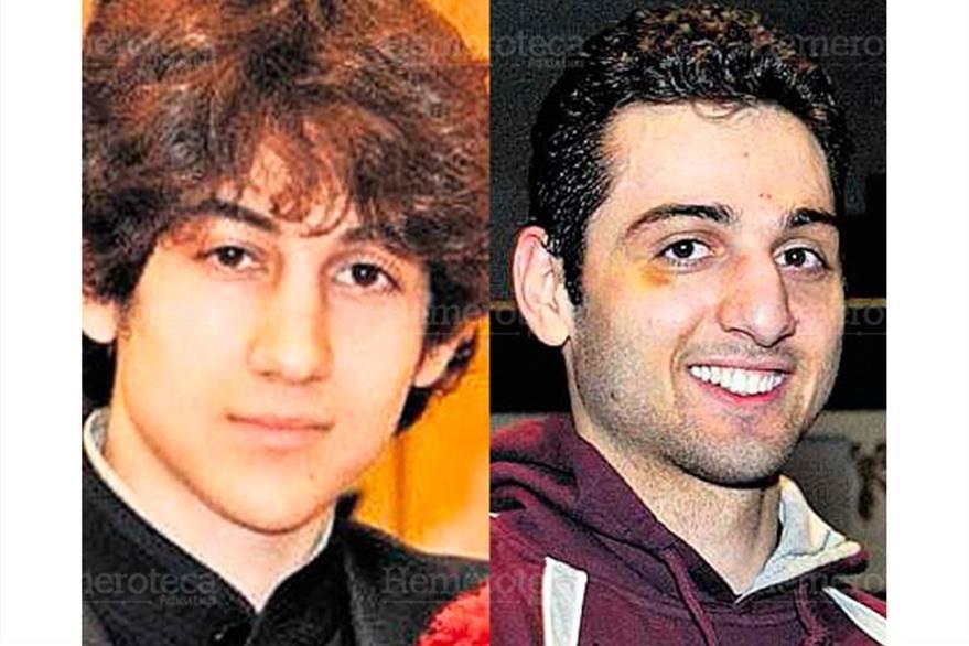Los hermanos Tamerlan y Dzhokhar Tsarnaev, originarios de Chechenia, quienes atentaron en la Maratón de Boston, el 21/04/2013. (Foto: Hemeroteca PL)