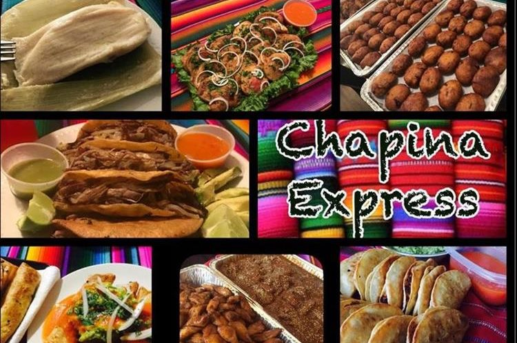Ejemplo del menú que ofrece el food truck Chapina Express en Los Ángeles, Estados Unidos. (Foto Prensa Libre: Facebook Chapina Express)