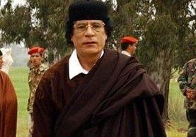 Muamar Gadafi murió en el 2011. (Foto Hemeroteca PL).
