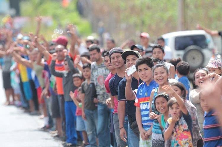 La afición ha respondido positivamente a la Vuelta a Guatemala.