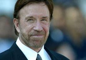Chuck Norris, actor estadounidense. (Foto Prensa Libre: Hemeroteca PL)