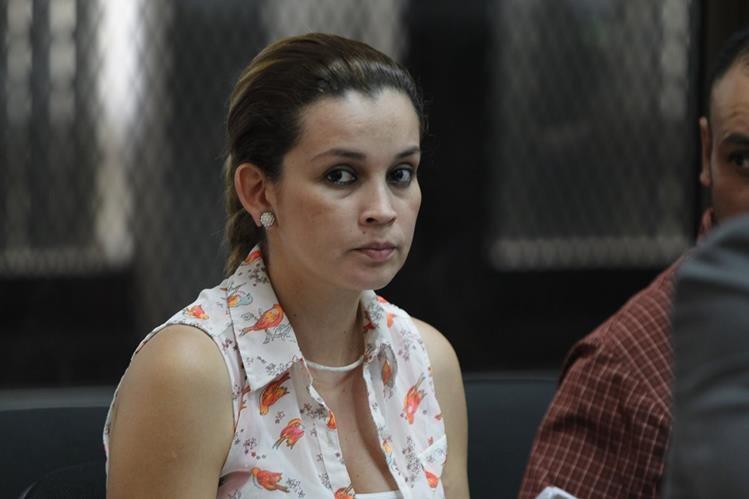 Ana Sofía Castañeda Deras, alias La Sirenita, enfrentará juicio por asociación ilícita (Foto Prensa Libre: Paulo Raquec).