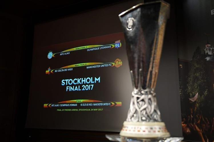 Los juegos de ida de la Europa League se disputarán el 4 de mayo y los de vuelta el día 11. (Foto Prensa Libre: AFP)