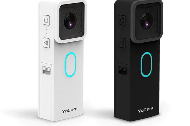 El gadget pesa 55 gramos y es más pequeño que un celular. (Foto Prensa Libre: Mofily).