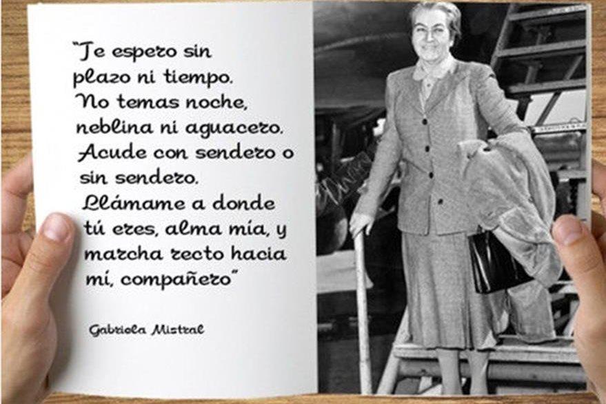 Gabriel Mistral, primera mujer Iberoamericana en ganar el Nobel de Literatura. (Foto: Hemeroteca PL)