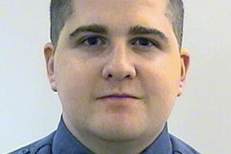 El agente de Massachusetts Sean Collier, murió en el tiroteo cuando las autoridades se enfrentaron y abatieron a Tamerlan Tsarnaev, hermando del condenado a muerte. (Foto Prensa Libre: AP).