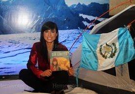 """Andrea Cardona presentó su libro """"Sin Límites"""". (Foto: Hemeroteca)"""