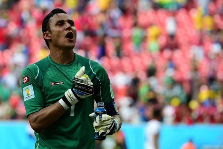 Keylor Navas, figura del Real Madrid, encabeza la lista de jugadores de Costa Rica para la Copa América. (Foto redes sociales).