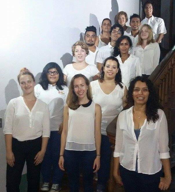 Coro Casa de los Tres Mundos, de Granada, Nicaragua. (Foto Prensa Libre: Hemeroteca PL).