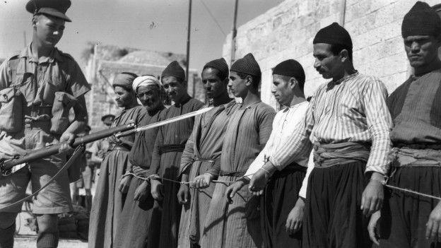 A la caída del Imperio otomano, Reino Unido se encargó de administrar el territorio de Palestina.  HULTON ARCHIVE