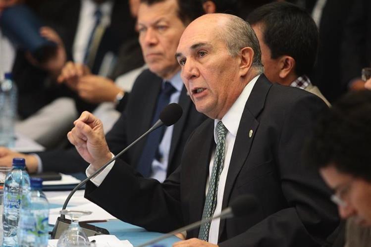 Mario Taracena, presidente del Congreso. (Foto Prensa Libre: HemerotecaPL)