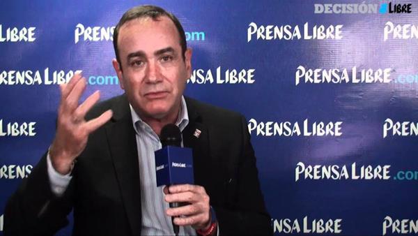 Alejandro Giammattei buscará por tercera ocasión la presidencia de la República. (Foto Prensa Libre: Oscar Rivas)