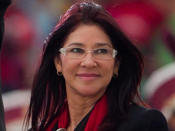 Cilia Flores, primera dama de Venezuela.