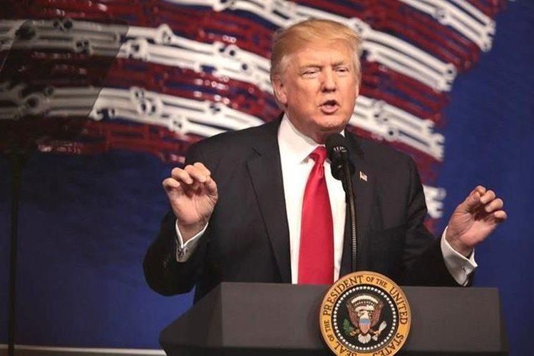 Donald J. Trump, el 45 presidente de Estados Unidos. GETTY IMAGES