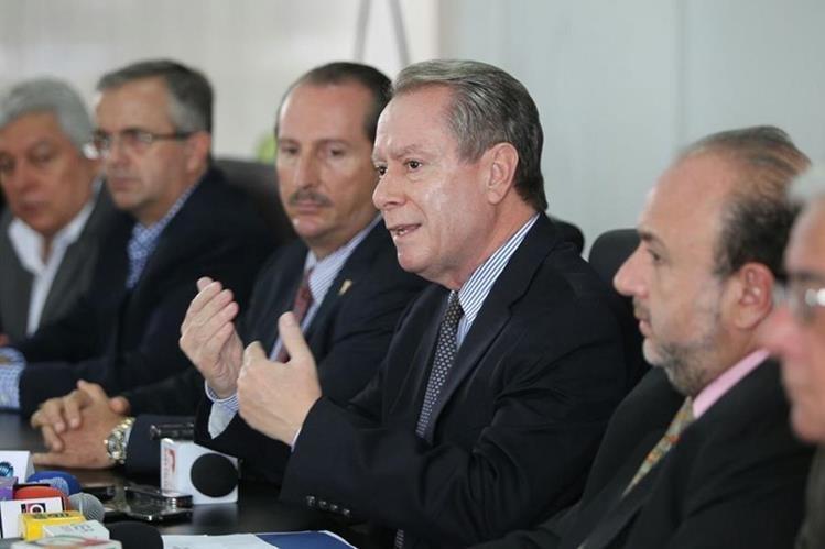 El Cacif se opone a la aprobación del presupuesto 2016 por considerar que contiene vicios. (Foto Prensa Libre: Esbin García)