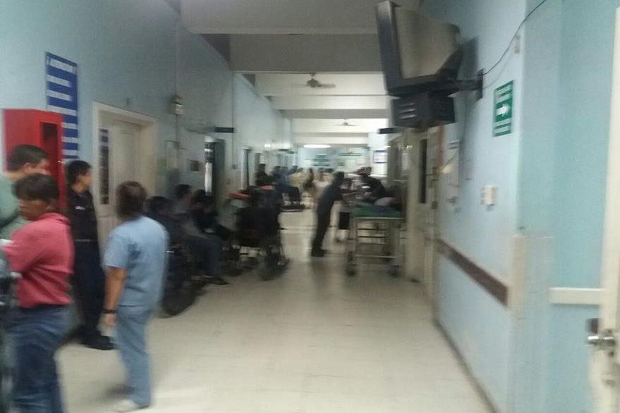 La PDH hace un monitoreo en el Hospital Nacional de Amatitlán. (Foto Prensa Libre: Cortesía PDH)