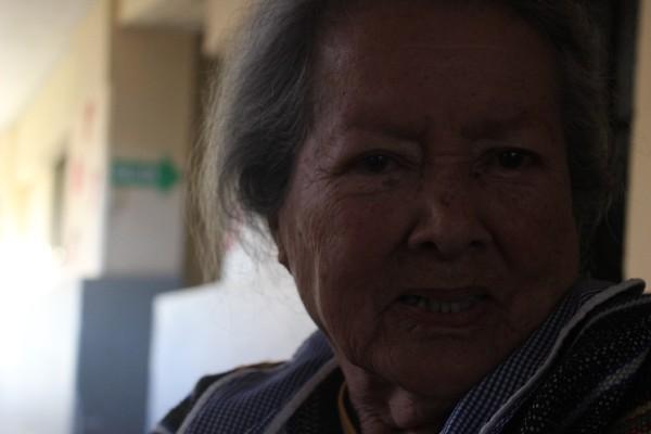<p>Mercedes Avendaño tiene 90 años  y recién llegó.Foto ( G. Montenegro)</p>