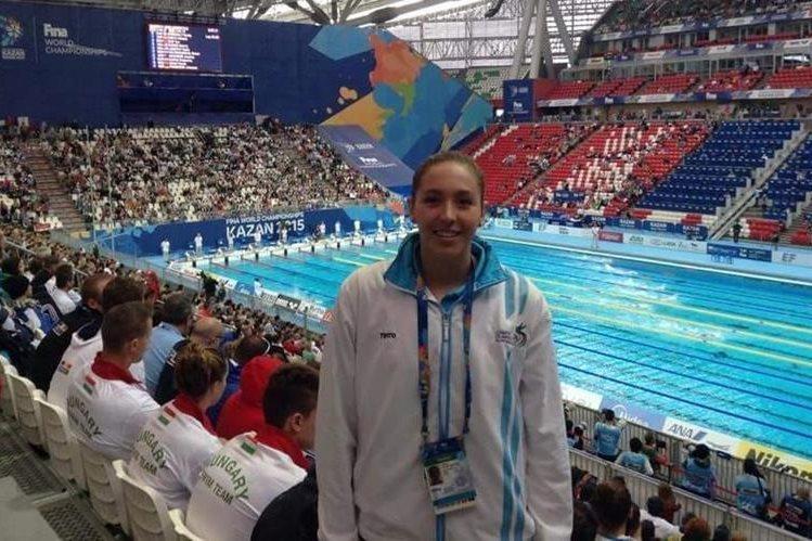 Valerie Gruest la última atleta clasificada a los Juegos Olímpicos de Río de Janeiro. (Foto Prensa Libre: Hemeroteca PL)