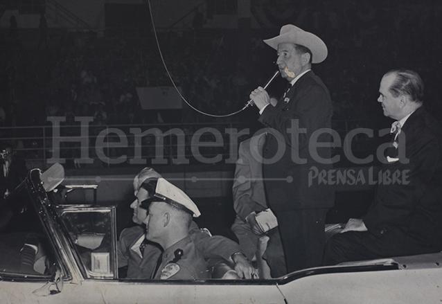 Ydígoras Fuentes gobernó el país de 1958 a 1963, su periodo no lo terminó por el golpe de Estado. (Foto: Hemeroteca PL)