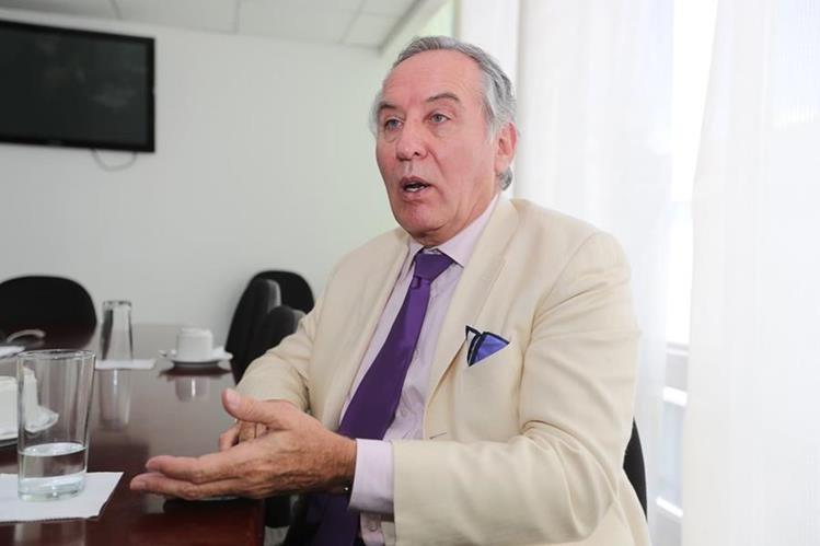 Ronald McLean, exalcalde de Bolivia y experto en transparencia y eficiencia de los gobiernos locales. (Foto Prensa Libre: Óscar Rivas)